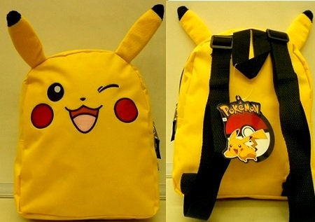 "Pokemon Pikachu 10"" Mini Toddler Backpack"