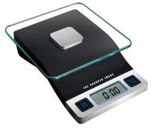 DIGITAL FOOD SCALE 1/8 oz/ 1 Gram Weight Increments by The Sharper Image by The Sharper Image