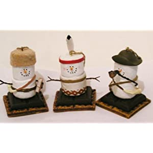 #!Cheap S'mores Original Lewis, Clark, Sacagawea, Christmas Ornaments Set Of 3 From Original Smores Collection