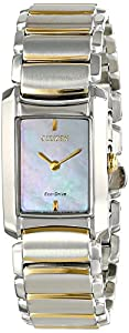 Citizen Women's EG2974-52D Euphoria Analog Display Japanese Quartz Two Tone Watch