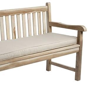 Amazon.com : Mozaic Indoor/Outdoor Corded Bench Cushion ...