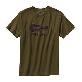 (パタゴニア)patagonia M's Live Simply Guitar T-Shirt
