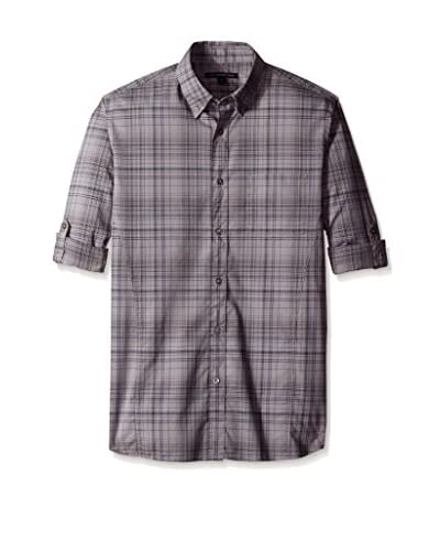 John Varvatos Star USA Men's Roll Up Sleeve Shirt
