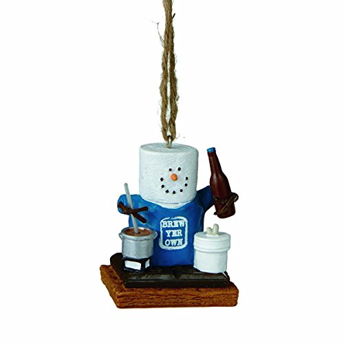 Smore's Beer Brewing Ornament