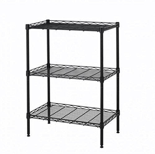 wire-shelving-wall-unit-3-shelves-shelf-rack-wide-duty-heavy-metal-black-3-layer-tire