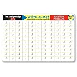 Melissa & Doug Addition Problems Write A Mat Placemat