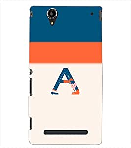 PrintDhaba GRANDbet A D-4702 Back Case Cover for SONY XPERIA T2 ULTRA (Multi-Coloured)