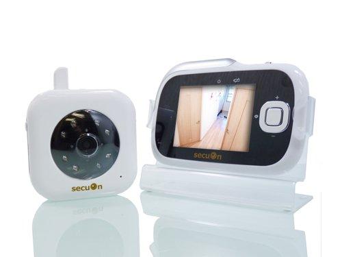 secuOn(セキュオン) 録画機能搭載デジタルベビーモニター デジタル信号