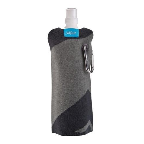 Vapur Sweater Water Bottle Cover (Grey Stripe) front-25840