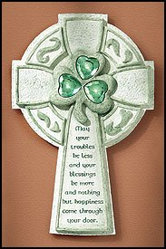 Irish Blessing Wall Cross