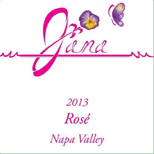 2013 Jana Winery Napa Valley Dry Rose Of Pinot Noir