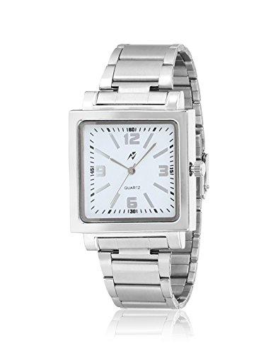 Yepme Men's Chain Watch – White/Silver