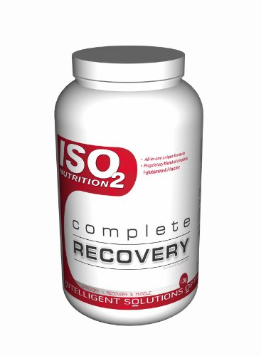 ISO2 Nutrition Complete Recovery 1200 g Vanilla Muscle Recovery Post-Workout Drink Powder
