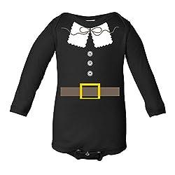 Thanksgiving Pilgrim Costume Infant Long Sleeve Bodysuit