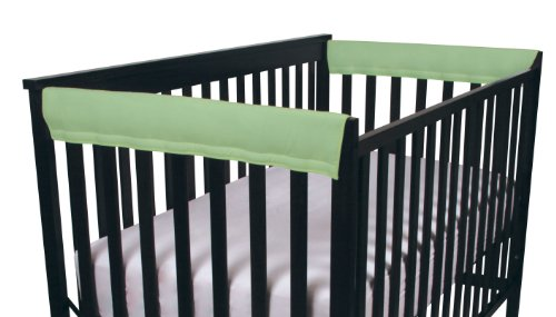 Easy Teether Side Rail Covers - 2 Pack - Sage