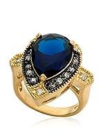 Riccova Anillo (Azul Oscuro / Dorado)