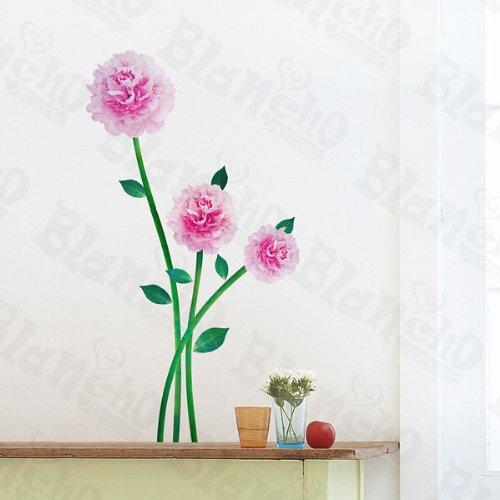 Flower Stem Applique Bedroom Decor Wall Sticker - DinoDirect.com