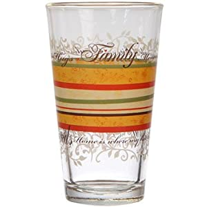 Thanksgiving Harvest Fall Family Coolers / Drinking Glasses, 16 oz, Box of 12