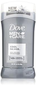 Dove Men+Care Cool Silver Deodorant,3.0 oz
