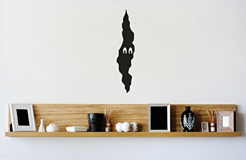 Design with Vinyl 3 Zzz 412 Decor Item Monster Kids Boy Girl Bedroom Image Wall Decal Sticker, 10 x 36-Inch, Black