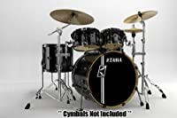 Tama Superstar Set Batterie Hyperdrive 5 Fûts SK52HXZBNS brushed platinum gray from Tama