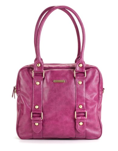 timi leslie baby jane diaper bag raspberry nappy bag nappy bags designer. Black Bedroom Furniture Sets. Home Design Ideas