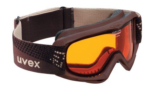 Skibrille Uvex Snowfire mit goldlite-Scheibe für Kinder & Jugendliche braun! online bestellen