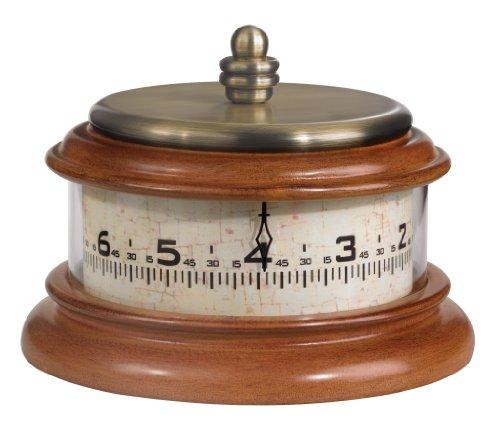 Bulova B2626 Tolland Clock, Antique Brass Finish