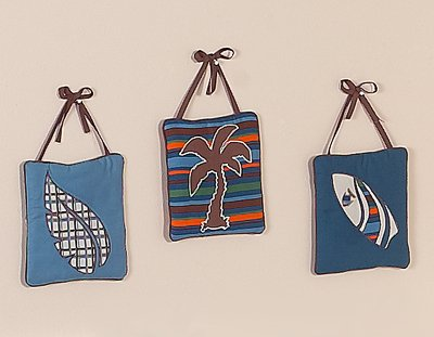 Tropical Hawaiian Wall Hanging Accessories for JoJo Surf Bedding