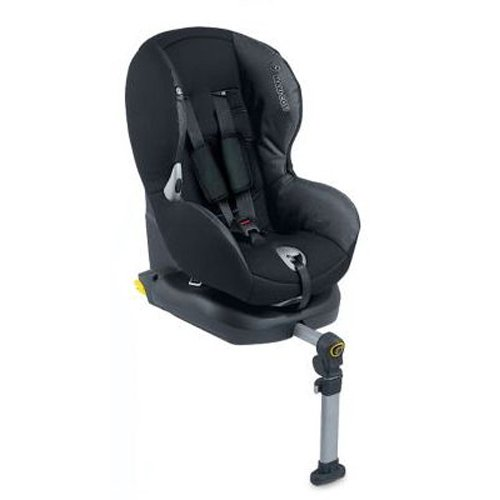 maxi cosi priorifix isofix toddler car seat in black grey ebay. Black Bedroom Furniture Sets. Home Design Ideas