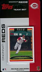 2006 Topps Cincinnati Reds Baseball Cards Limited Edition Team Set of 14 Cards - Not Available In Packs - Includes Adam Dunn, Austin Kearns, Ryan Wagner, Wily Mo Pena, Luke Hudson, and more