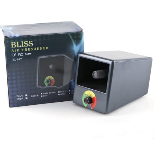 Image of Bliss Cave Shape Aromatherapy Diffuser Vaporizer | Blue (B00A0Z9E3O)