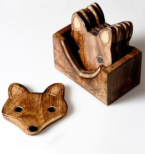 set-of-6-x-rustic-wooden-fox-coasters-in-a-box