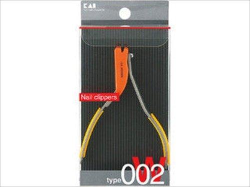 貝印ツメキリtypeW002オレンジ KE0112