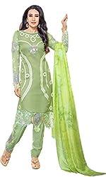 Mahaveer Fashion Women's Dress Material (8313_30_66012_Green_Free Size)