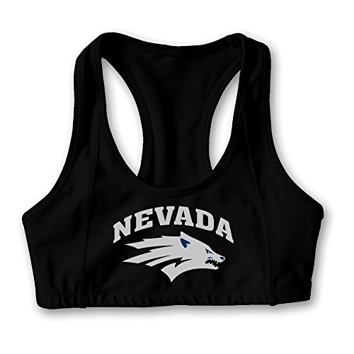Nevada Wolf Pack Seamless Yoga Bra 90% Nylon, 10% Spandex (Nv Wolf Pack compare prices)