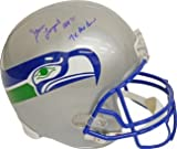 Steve Largent signed Seattle Seahawks Full Size TB Replica Helmet HOF 95 &amp; 7 X Pro Bowl at Amazon.com