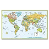 img - for Rand McNally M Series World Wall Map: Laminated book / textbook / text book
