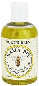 (降价)Burt's Bees Mama Bee Body Oil 小蜜蜂维E妈妈紧肤滋养身体油3瓶SS后$14.56