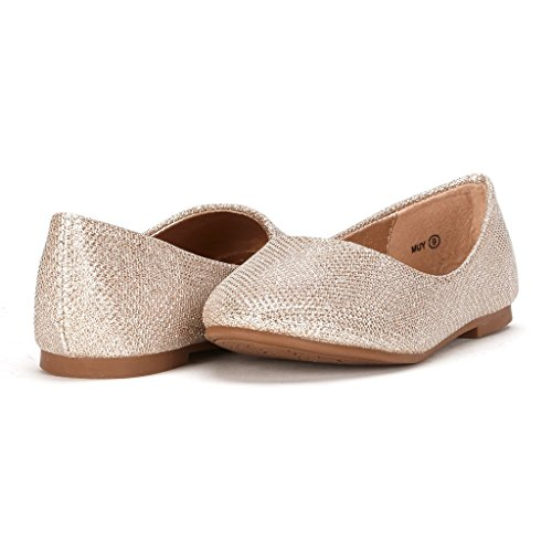03. Dream Pairs MUY Mary Jane Casual Slip On Ballerina Flat (Toddler/ Little Girl) New