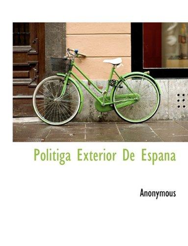 Politiga Exterior De Espana