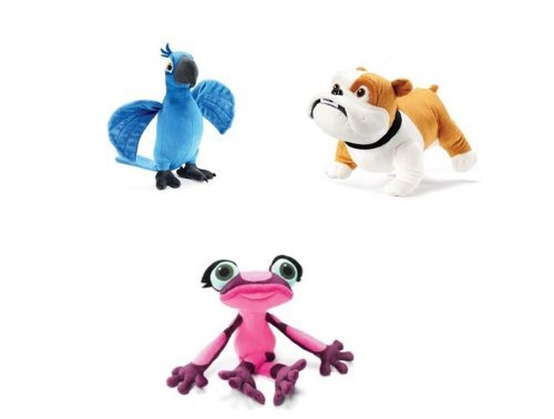 Kohl's Cares Rio 2 Plush Blu Parrot, Gabi Dart Frog & Luiz Dog character toys by Kohl's Cares online kaufen