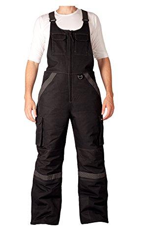 Arctix Men's Tundra Ballistic Bib Overall, Black, Large (Ice Fishing Bibs compare prices)