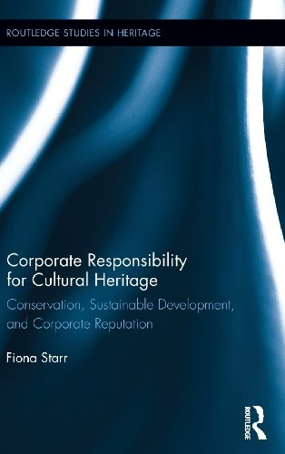 Corporate Responsibility for Cultural Heritage: Conservation, Sustainable Development, and Corporate Reputation