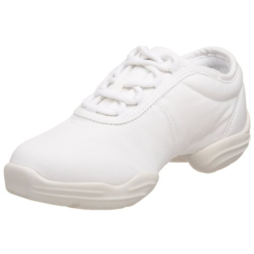 Capezio  Canvas Dance Sneaker,White,8 M US