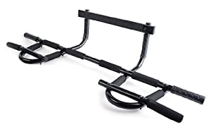 ProSource Heavy-Duty Easy Gym Doorway Chin-Up/Pull-Up Bar from ProSource