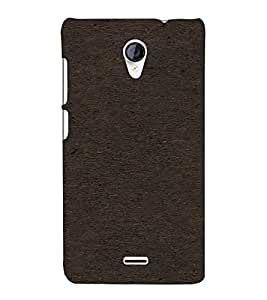 PrintVisa Black Pattern 3D Hard Polycarbonate Designer Back Case Cover for Micromax Unite 2 A106