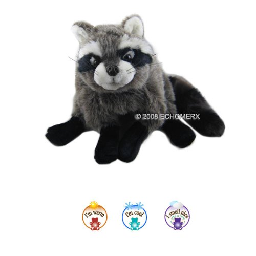Aroma Raccoon- Aromatherapy Stuffed Animal - Hot And Cold Therapy