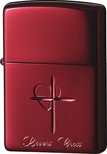 ZIPPO (Zippo) oil lighter NO200 lovers / Cross-Red 63020498