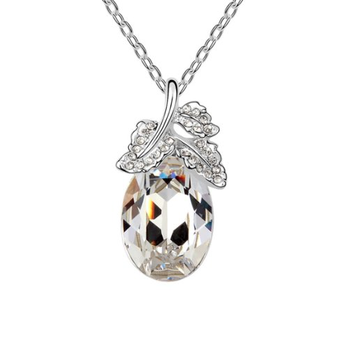Boxingcat Fine Jewelry Swarovski Style Clear Austrian Crystal Pendant Necklaces Bgca6133 front-562855